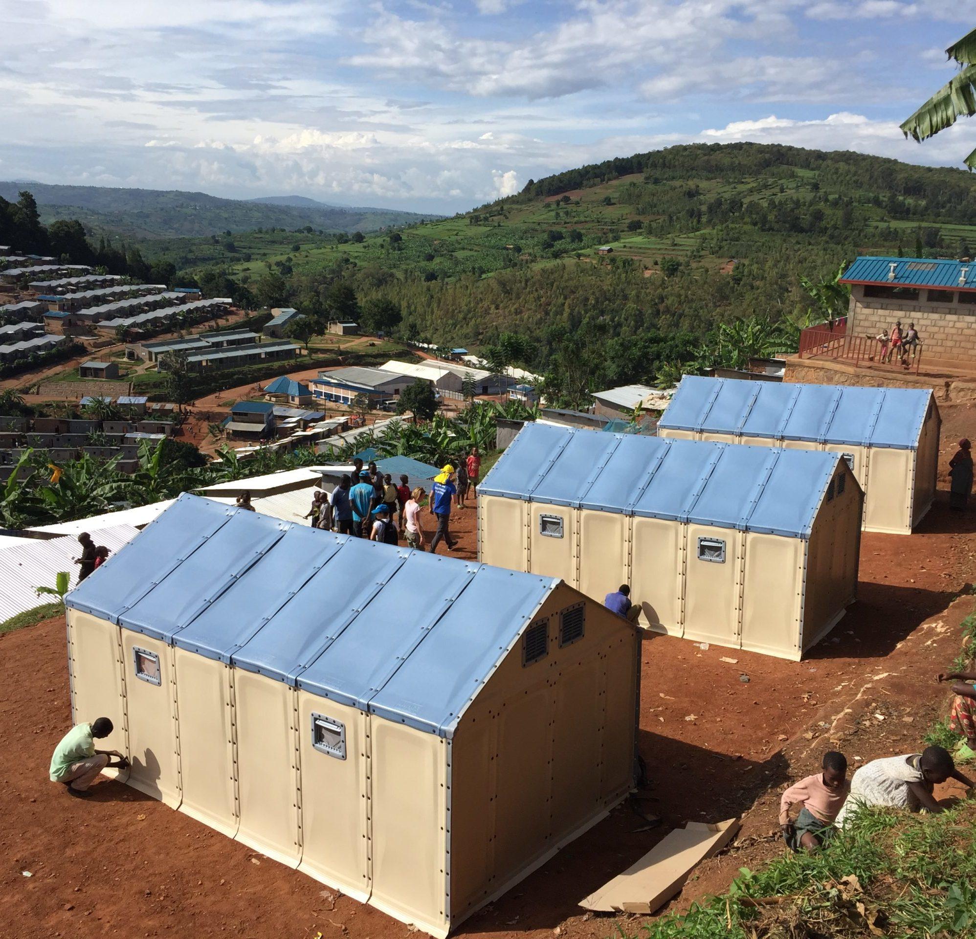 Photo du projet Refugee Housing Unit (RHU) de UNHCR