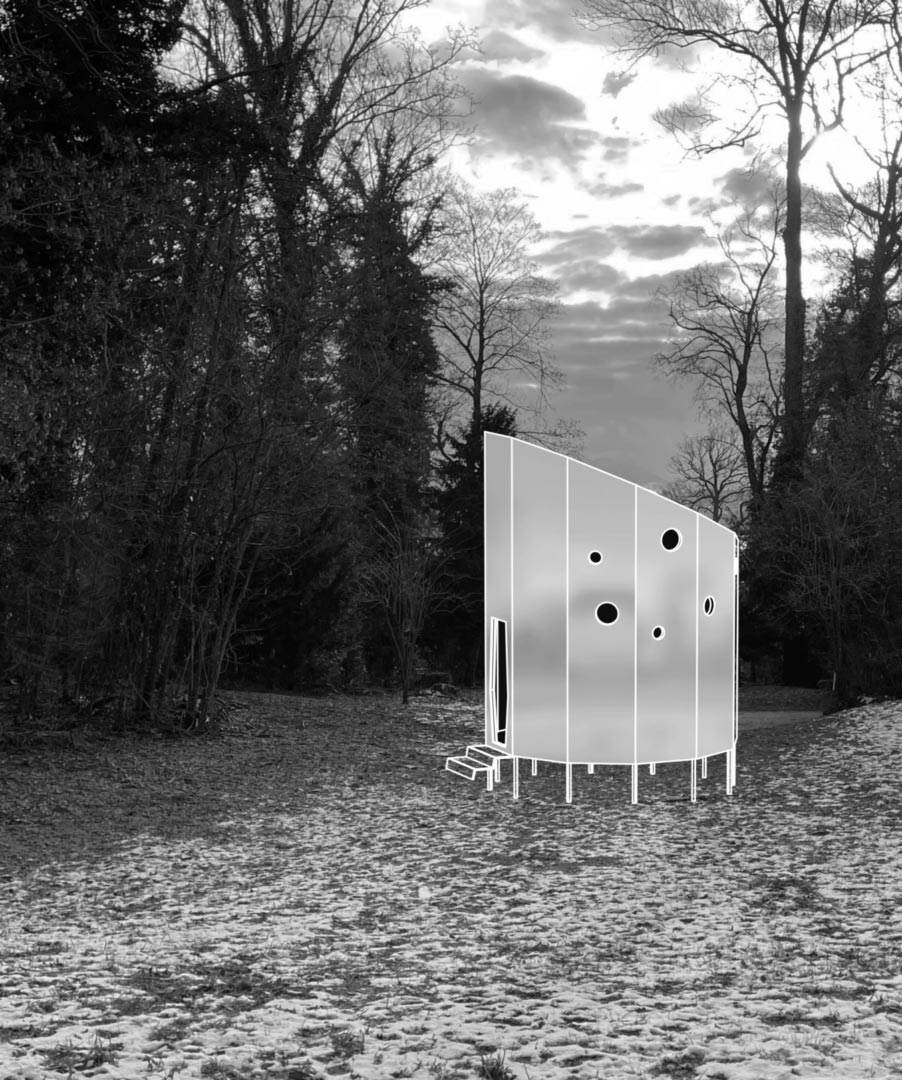 Photo du projet REFUGE TONNEAU 21. UN HOMMAGE de HEAD-Genève